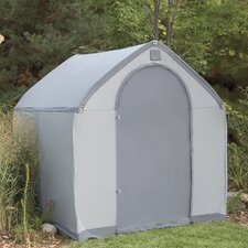 StorageHouse 6 Ft. W x 6 Ft. D Plastic Portable Shed