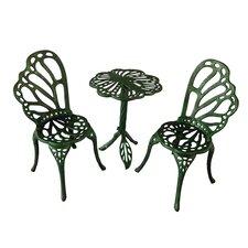 Twin Butterfly Bistro 3 Piece Set