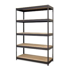"72"" H 5 Shelf Shelving Unit"