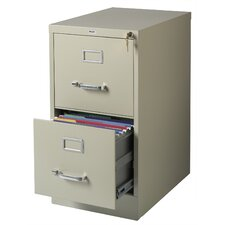 2 Drawer Letter-Size  File Cabinet