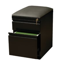 2-Drawer Mobile Pedestal Seat