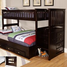 Twin Over Full Storage Standard Customizable Bedroom Set