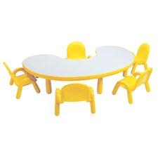 "Baseline 65"" x 38"" Kidney Classroom Table"