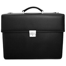 Prestige Double Gusset Leather Briefcase