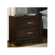 Beverly 2 Drawer Nightstand