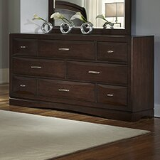 Beverly 8 Drawer Dresser with Mirror