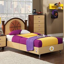 NBA Twin Panel Bed
