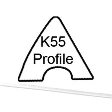 Table Parts and Repair 8Foot Cushion K55 Rubber (Set of 6)