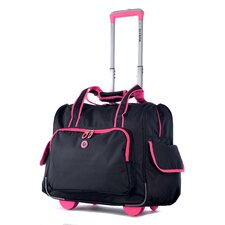 """Deluxe Fashion 14"""" Overnighter Suitcase"""