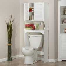 "Ellsworth 27.36"" x 63.75"" Over the Toilet Cabinet"