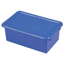 Single Width Tote Bin With Matching Lid (Set of 12)