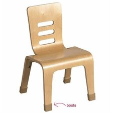 Wood Classroom Chair Boots (Set of 20)