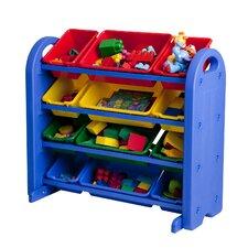 4 Tier Plastic Storage Organizer