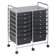 14 Drawer Mobile Organizer