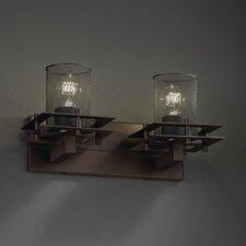 Wire Mesh™ 2 Light Metropolis Vanity Light