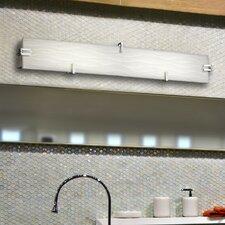 Porcelina™ 3 Light Clips Bath Bar