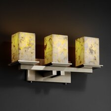 Alabaster Rocks Montana 3 Light Bath Vanity Light