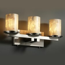 Alabaster Rocks Dakota 3 Light Bath Vanity Light