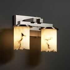 LumenAria Dakota 2 Light Bath Vanity Light