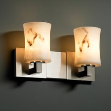 LumenAria Modular 2 Light Bath Vanity Light