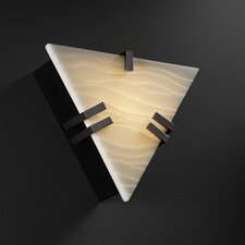 Porcelina Clips ADA 1 Light Wall Sconce