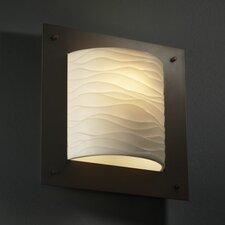 Porcelina Framed 1 Light Wall Sconce