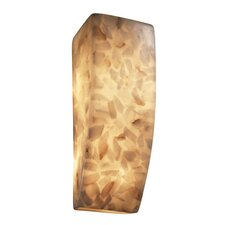 Alabaster Rocks 1 Light Wall Sconce