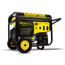 Portable Gas Powered Electric Start Generator