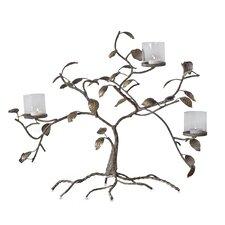 3 Light Golden Branches Candleholder