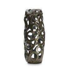Iron Luster Tall Loop Vase
