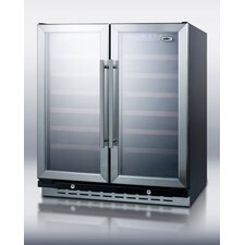 66 Bottle Dual Zone Built-In Wine Refrigerator