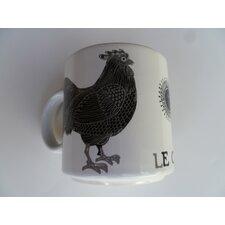 """Vintage French Le Coq """"Rooster"""" 11 oz. Mug (Set of 2)"""