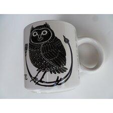 "Vintage French La Chouette ""Owl"" 11 oz. Mug (Set of 2)"