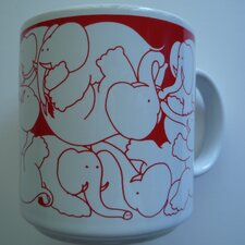 Animates 11 oz. Nitetime Elephants Mug (Set of 2)