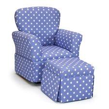 Kelso Maggie Kids Rocking Chair & Ottoman Set