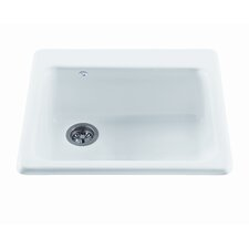 "Reliance 25"" x 22.25"" Simplicity Single Bowl Kitchen Sink"