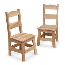 "11"" Wood Classroom Chair (Set of 2)"