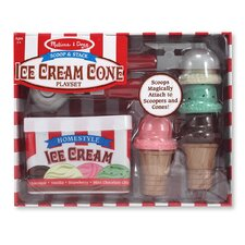 Scoop and Stack Ice Cream Cone Set