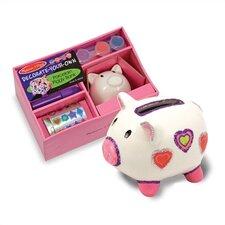 DYO Piggy Bank Arts & Crafts Kit