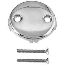 Two Hole Faceplate with Screw