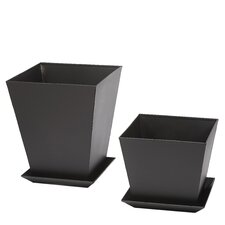 Phat Tommy Square Planter Box (Set of 2)