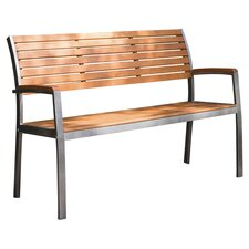 Phat Tommy Fushion Steel / Wood Park Bench