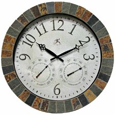 "Indoor/Outdoor 18"" Wall Clock"