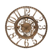 "15.5"" Open Dial Gear Wall Clock"