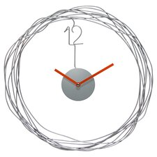 "Wire Transfer 14"" Wall Clock"