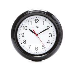 "8"" Small Black Wall Clock"