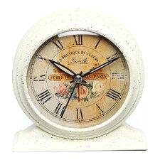 Boutique De Fleur Metal Alarm Clock