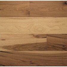 "Wide Plank 6"" Engineered Hickory Hardwood Flooring in Toast"