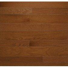 "Homestyle 3-1/4"" Solid Red Oak Hardwood Flooring in Gunstock"