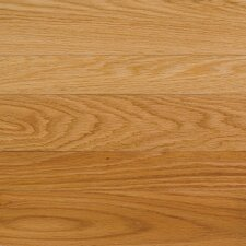 "High Gloss 5"" Engineered Red Oak Hardwood Flooring in Natural"